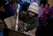 UNICEF está repartiendo ropa de abrigo en Siria