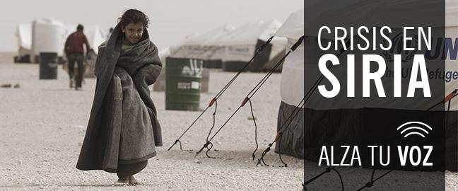 Crisis en Siria - Alza tu voz
